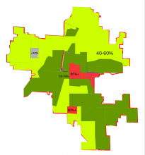 RAPID Support By Precinct, 2017